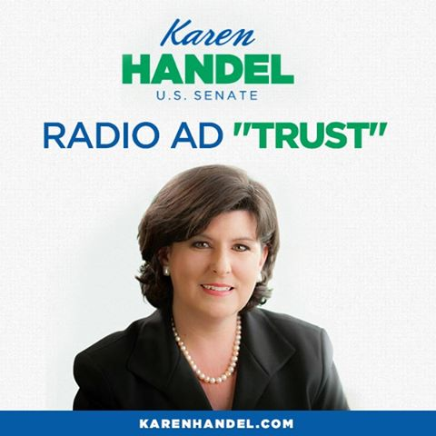 "Photo: Do you think it is right that Congress is receiving special treatment under Obamacare? Listen to my radio ad ""Trust"" and let me know what you think. http://bit.ly/1aQVw6s"
